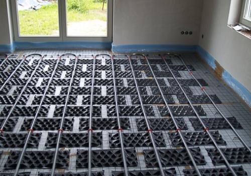 Fußbodenheizung mit PYD